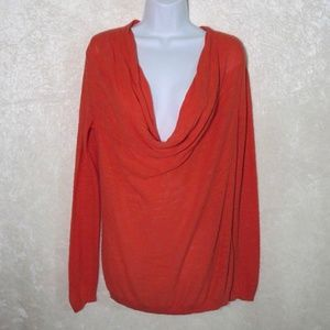 Angel of the North Lightweight Coral Sweater